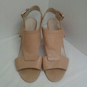 Nine West Beige Summer Sandals  NWfanceman 9 M